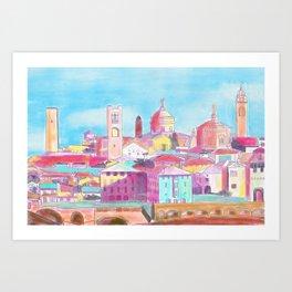 Bergamo - artprint Art Print