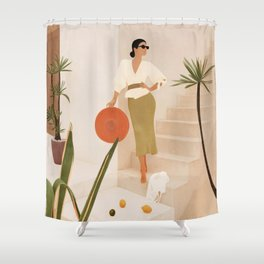 Wonders of the New Day Shower Curtain