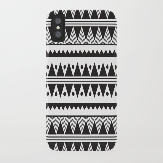 African Tribal Pattern No. 2 iPhone Case