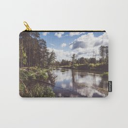 Liwiec River - Landscape and Nature Photography Carry-All Pouch