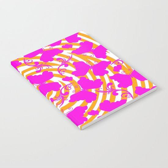 Butterflies twirl  Notebook