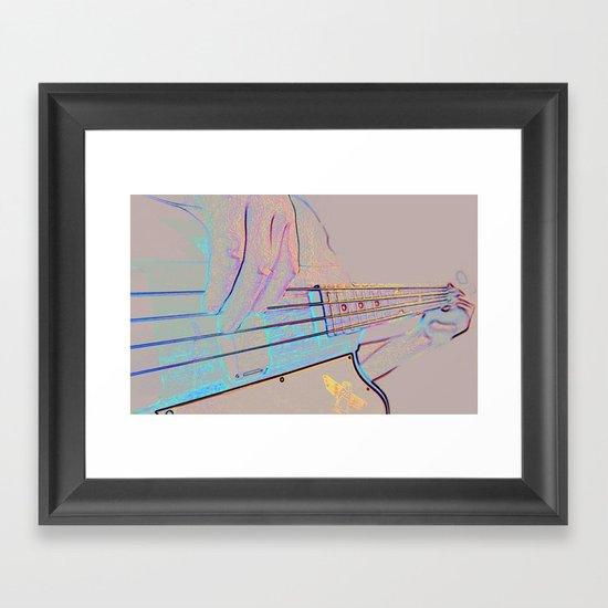Bass-ics Framed Art Print