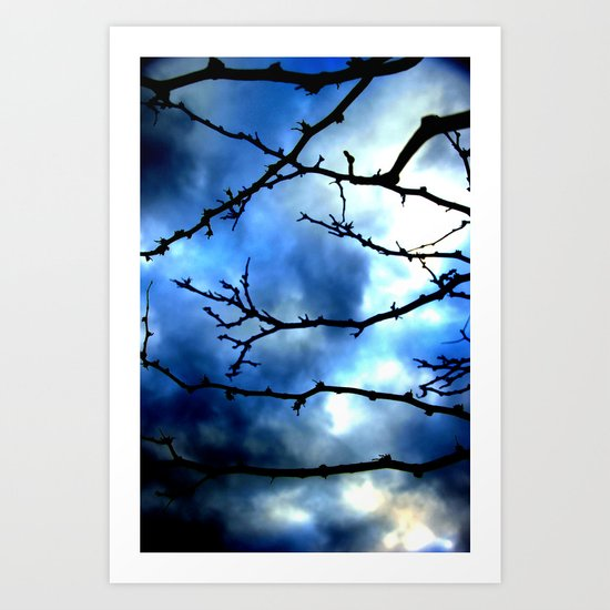Storm Warning Art Print