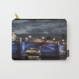 St Paul's Cathedral & Southwark Bridge At Night Carry-All Pouch