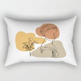 Antique Feeling #9 Rectangular Pillow