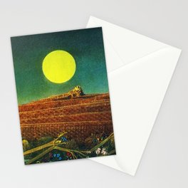 The Entire City by Max Ernst Stationery Cards