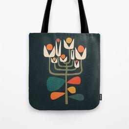 Retro botany Tote Bag