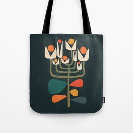 Retro botany Tote Bag