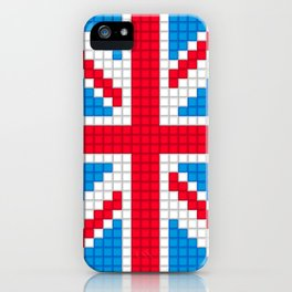 Union Jack by Qixel iPhone Case