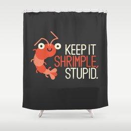The Prawn Principle Shower Curtain