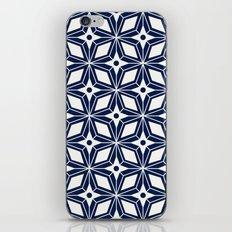 Starburst - Navy iPhone Skin
