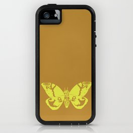 We Must Learn to Help Each Other -Mothra vs. Godzilla iPhone Case