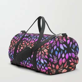 All the Colors of Nature - Gradient on Dark Background Duffle Bag