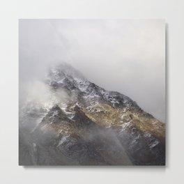 Evening Fog Metal Print
