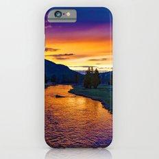 Sundown At Yellowstone iPhone 6s Slim Case