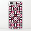 Small Hot Pink and Black Flowers by boutiquebijou