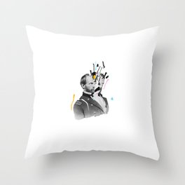 The Colors Inside Throw Pillow