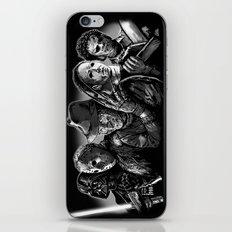 Freddy Krueger Jason Voorhees Michael Myers leatherface Darth Vader Blackest of the Black iPhone Skin