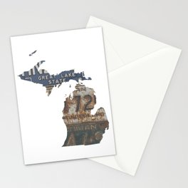 Vintage Michigan Stationery Cards