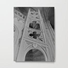 Stairway of Prague Metal Print