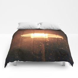 Burst of Snow Comforters