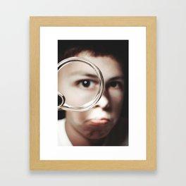 Magnified Framed Art Print