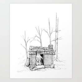 Grizz Lee Art Print