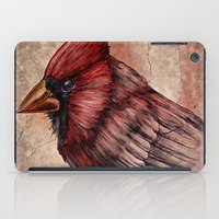 cardinal iPad Cases featuring Cardinal by Werk of Art