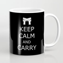 Keep Calm and Carry Coffee Mug