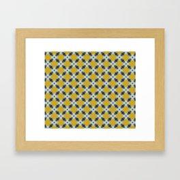 Moroccan Tile by Friztin Framed Art Print