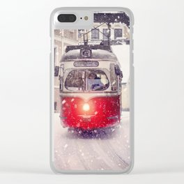 Tram Salzburg Clear iPhone Case