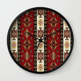 AntiqueAnatoliaMotif Wall Clock