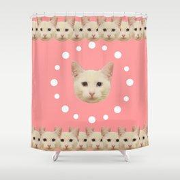 Pink Haruka by ilya konyukhov (c) Shower Curtain