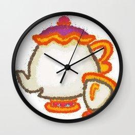 Mrs Potts Wall Clock