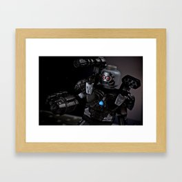 War Machine Framed Art Print