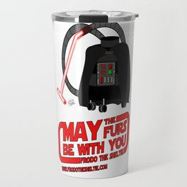 Frod0 the Sheltie: May the Furs Be With You (The Vacuum) Travel Mug