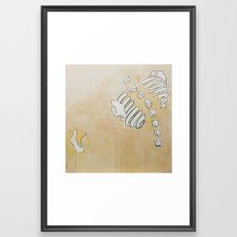Exploded View Framed Art Print