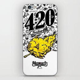420 Positivo OK iPhone Skin