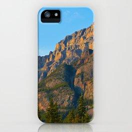 Mt. Kerkeslin in Jasper National Park iPhone Case
