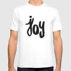 My Joy  Mens Fitted Tee White MEDIUM