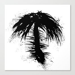 By The Palm Canvas Print