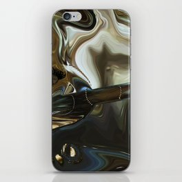 Imagine what is in your mind iPhone Skin