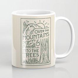 Over The Mountains Coffee Mug