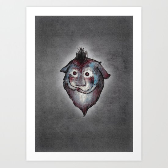 Ghost / Alone Art Print