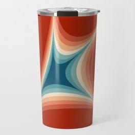 Retro style illustration Travel Mug