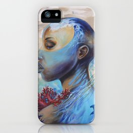 Beyond the waves of the mind iPhone Case