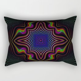 Fluorescent 2 Rectangular Pillow