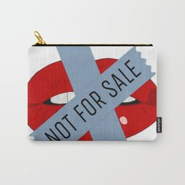 Not For Sale mouth Carry-All Pouch