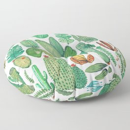 nature pattern collab. Floor Pillow