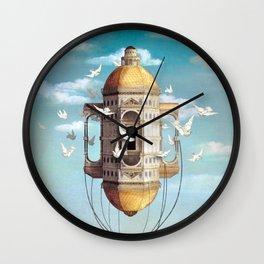 Imaginary Traveler Wall Clock